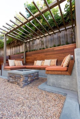 Magnificient Gravel Landscaping Design Ideas For Backyard26