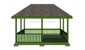 Modern Wood Pavilion Design Ideas For Backyard13