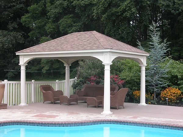 Modern Wood Pavilion Design Ideas For Backyard14