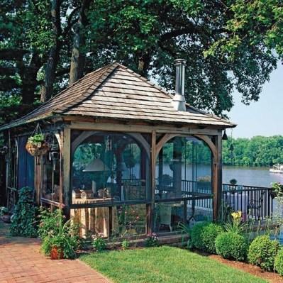 Modern Wood Pavilion Design Ideas For Backyard23