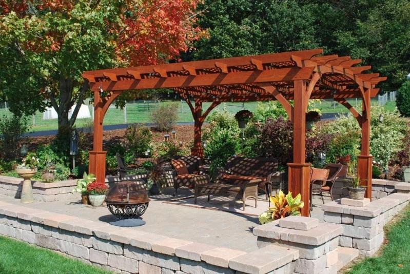 Modern Wood Pavilion Design Ideas For Backyard36