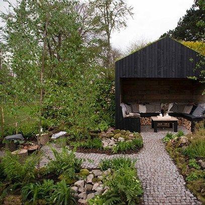 Modern Wood Pavilion Design Ideas For Backyard41