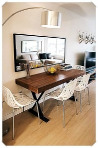 Stunning Dining Tables Design Ideas For Small Space20