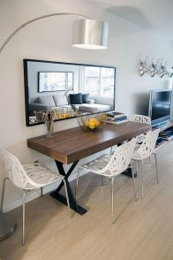 Stunning Dining Tables Design Ideas For Small Space21