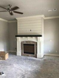 Unique Farmhouse Fireplace Design Ideas For Living Room02