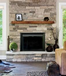 Unique Farmhouse Fireplace Design Ideas For Living Room14