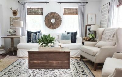 Unique Summer Decor Ideas For Living Room01
