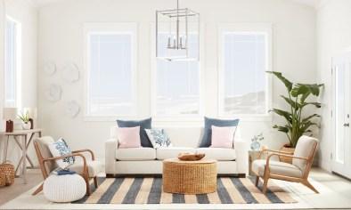 Unique Summer Decor Ideas For Living Room44
