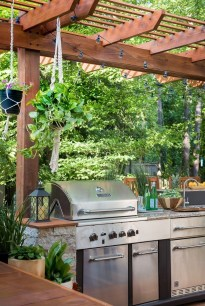 Elegant Small Kitchen Ideas For Outdoor30