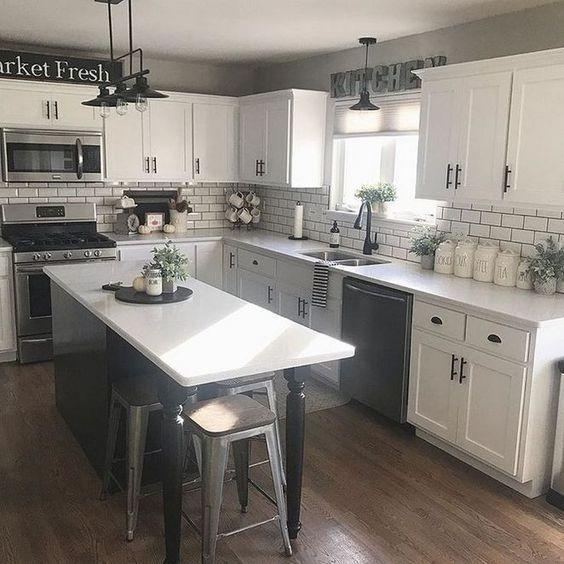 Fancy Farmhouse Kitchen Ideas For 201945