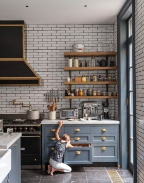 Attractive Industrial Kitchen Ideas That Will Amaze You34