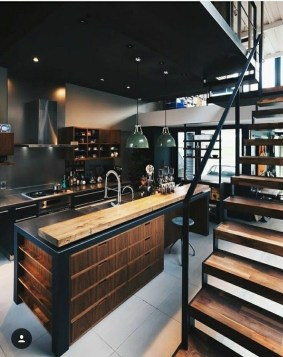 Attractive Industrial Kitchen Ideas That Will Amaze You35
