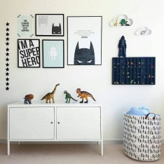 Best Memorable Childrens Bedroom Ideas With Superhero Posters 04