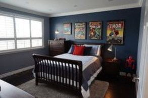Best Memorable Childrens Bedroom Ideas With Superhero Posters 25