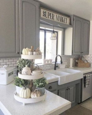 Casual Diy Farmhouse Kitchen Decor Ideas To Apply Asap 06