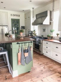 Casual Diy Farmhouse Kitchen Decor Ideas To Apply Asap 42