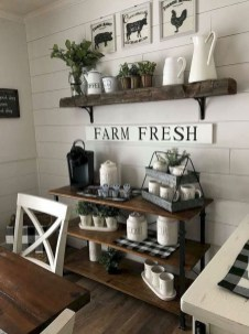 54 Casual Diy Farmhouse Kitchen Decor Ideas To Apply Asap Zyhomy