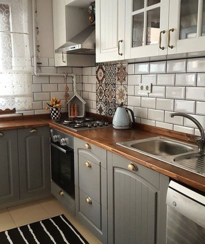 Casual Diy Farmhouse Kitchen Decor Ideas To Apply Asap 53