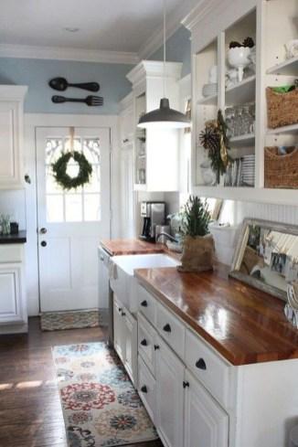 Casual Diy Farmhouse Kitchen Decor Ideas To Apply Asap 54