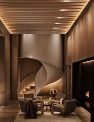 Cozy Interior Design Ideas With Lighting Combinations15