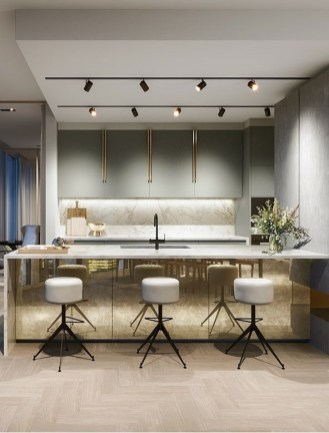 Cozy Interior Design Ideas With Lighting Combinations29