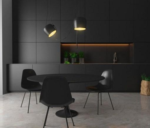 Cozy Interior Design Ideas With Lighting Combinations30