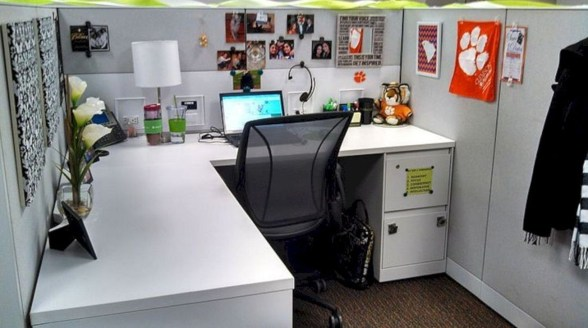 Creative Diy Cubicle Decor Ideas For Working Space 12