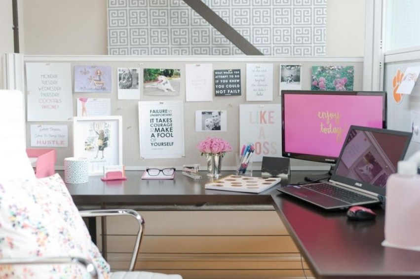 Creative Diy Cubicle Decor Ideas For Working Space 43
