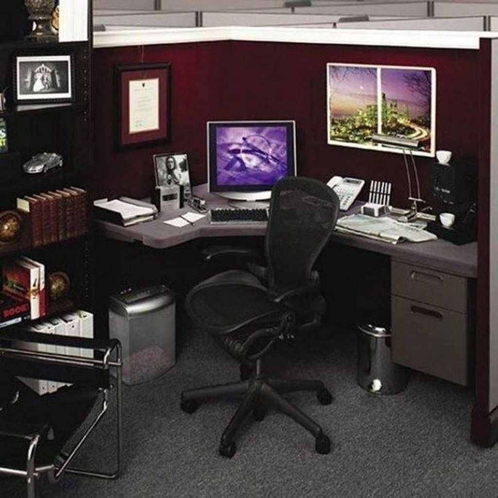 Creative Diy Cubicle Decor Ideas For Working Space 53