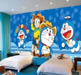 Impressive Kids Bedroom Ideas With Doraemon Themes17