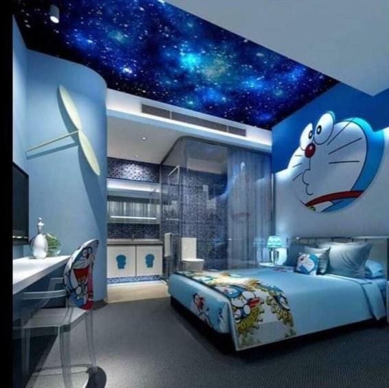 Impressive Kids Bedroom Ideas With Doraemon Themes27