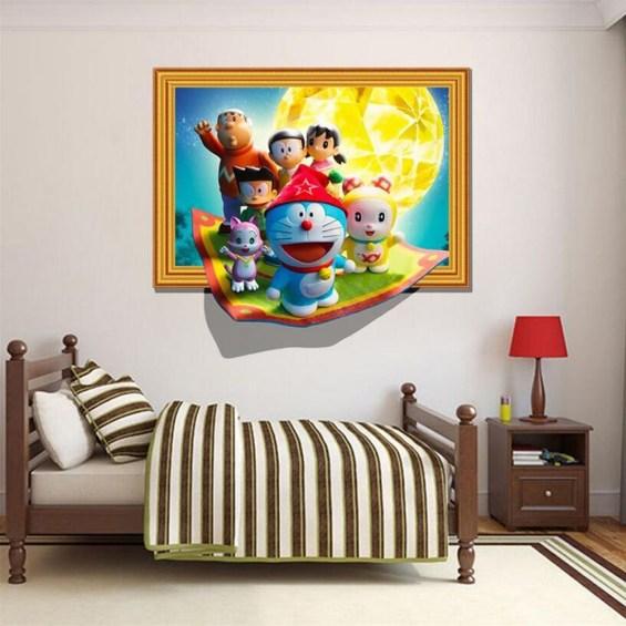 Impressive Kids Bedroom Ideas With Doraemon Themes28