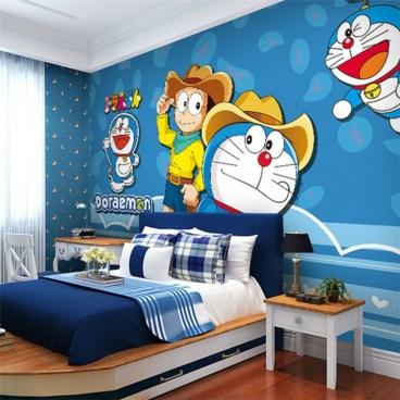 Impressive Kids Bedroom Ideas With Doraemon Themes30