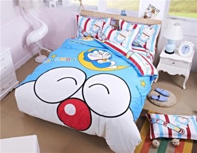 Impressive Kids Bedroom Ideas With Doraemon Themes34