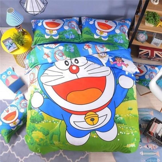Impressive Kids Bedroom Ideas With Doraemon Themes40