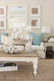 Inspiring Living Room Ideas With Beachy And Coastal Style12