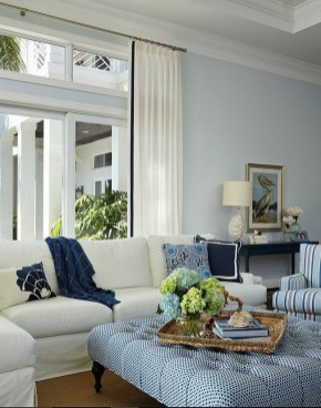 Inspiring Living Room Ideas With Beachy And Coastal Style18