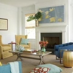 Inspiring Living Room Ideas With Beachy And Coastal Style38