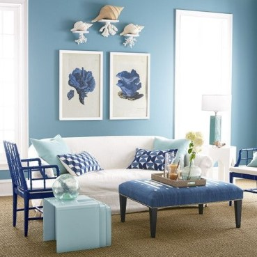 Inspiring Living Room Ideas With Beachy And Coastal Style43
