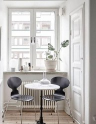 Interesting Dinning Table Design Ideas For Small Room23