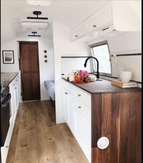 Lovely Rv Cabinet Makeover Ideas30