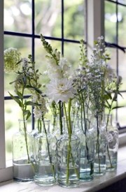 Lovely Window Design Ideas With Vase Flower Ornament01