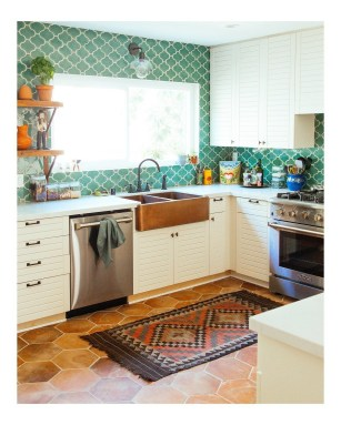 Magnificient Kitchen Floor Ideas For Your Home40