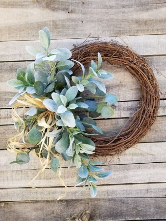 Pretty Hang Wreath Ideas In Door For Summer Time 50