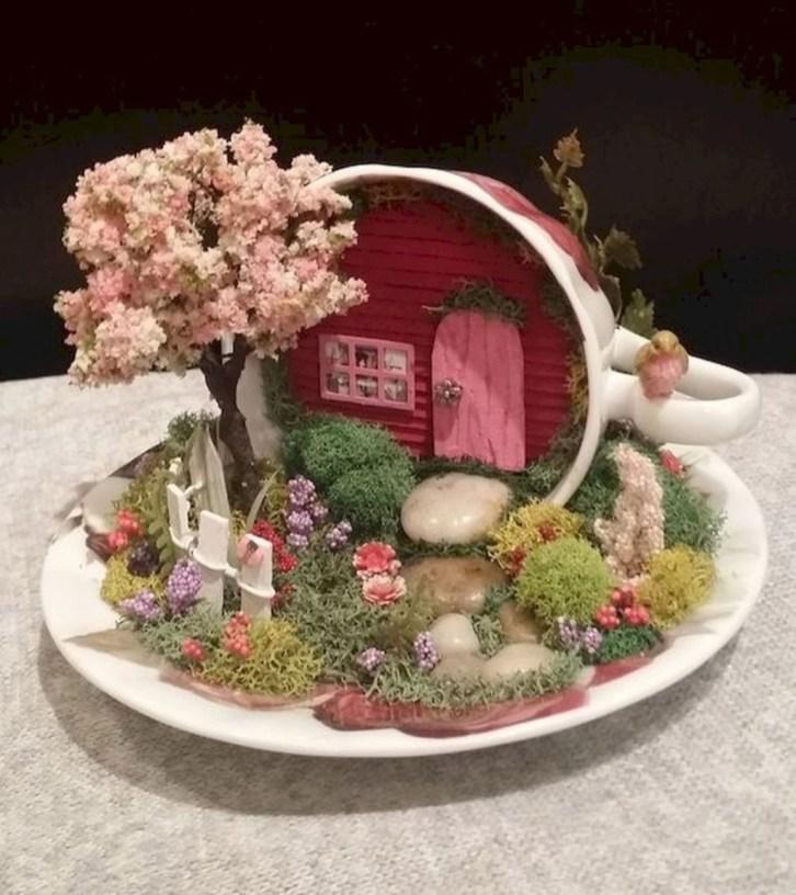 Stytlish Miniature Fairy Garden Ideas27
