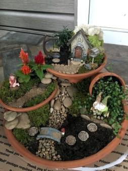 Stytlish Miniature Fairy Garden Ideas36