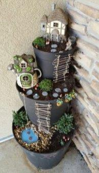 Stytlish Miniature Fairy Garden Ideas38