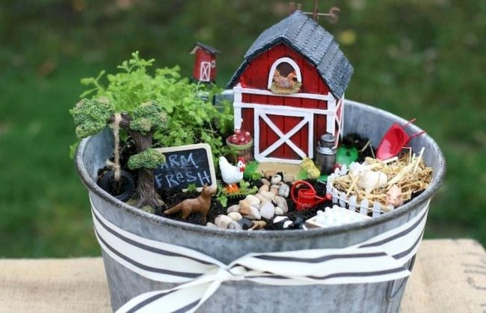 Stytlish Miniature Fairy Garden Ideas44
