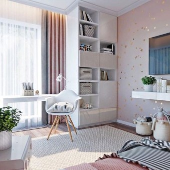 Unodinary Small Apartment Decor Ideas For Girls 45
