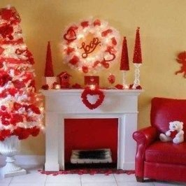 Beautiful Home Interior Design Ideas With The Concept Of Valentines Day12